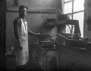 3230-2 Chinese kok in Rotterdam 1922